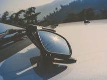Reflective lightsun a sunglasses Royalty Free Stock Photos