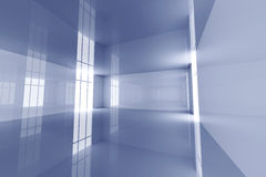 Reflective Room Stock Photography