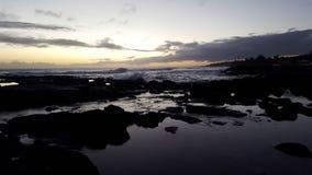 Reflective sunset Royalty Free Stock Image