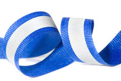 Reflective tape - high visibility textile Stock Image
