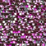 Reflective tiles. Computer generated illustration of colorful artistic tile mosaic Royalty Free Stock Photography