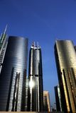 Reflective towers JLT Royalty Free Stock Photography