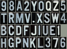 Reflective type Stock Images