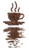 reflecton бака кофе Стоковое Фото
