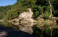 Reflecton del parque de estado fotografía de archivo