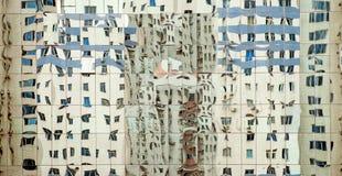 Reflecton of facade Royalty Free Stock Photos