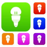 Reflector bulb set collection Stock Photography