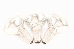 Reflector bulbs Stock Images