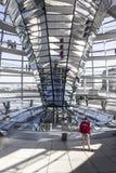 Reflector de la central de Reichstag Fotos de archivo libres de regalías