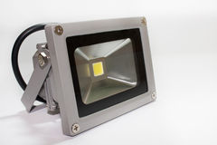 Reflector del LED en la casa del metal Fotografía de archivo libre de regalías