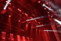 Reflector del pasillo de la iluminación equipment Imágenes de archivo libres de regalías
