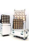 Reflector del pasillo de la iluminación equipment Foto de archivo libre de regalías