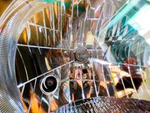 Reflector. Front lamp car cristal Stock Photo