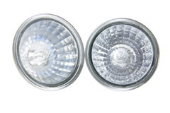Reflector Lamps Stock Photography