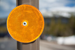 Reflector in the Mountains Royalty Free Stock Photos
