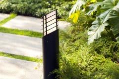Reflector para iluminar las calles y los cuadrados y los parques grandes fotos de archivo libres de regalías