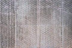 Reflector texture background. Sliver horizontal reflector texture background Stock Photos