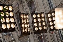 reflectores Imagenes de archivo