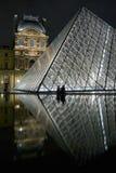 Reflejado en la pirámide de la lumbrera Foto de archivo