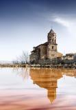 Reflejo de la iglesia Fotos de archivo libres de regalías