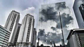 reflejo de la torre fotografía de archivo libre de regalías