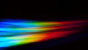 Reflejo de luz multicolor Imágenes de archivo libres de regalías