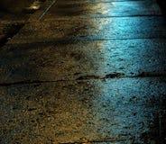 Reflejo de luz verde Imagen de archivo libre de regalías