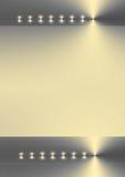 Reflejo de oro abstracto stock de ilustración