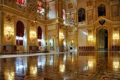 Reflejos de luz en el St espléndido Alexander Hall - Kre magnífico fotografía de archivo libre de regalías