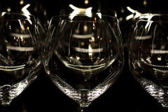 Reflejos de luz sobre el vidrio Foto de archivo libre de regalías