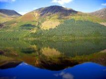 refleksja nad jeziorem Fotografia Royalty Free