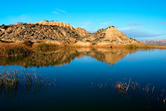 refleksja nad jeziorem obrazy stock