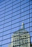 refleksje hancock tower fotografia royalty free