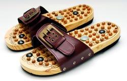 refleksologia nożni buty. Obrazy Stock