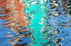 Reflektera p? vattnet arkivbilder