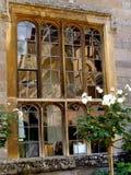 Reflekterande fönster Fotografering för Bildbyråer