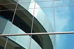 reflekterande fönster arkivbilder
