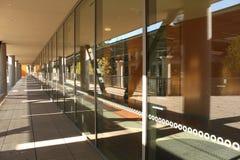 Reflekterande fönster två Fotografering för Bildbyråer