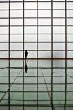 Reflekterande golv Arkivfoto