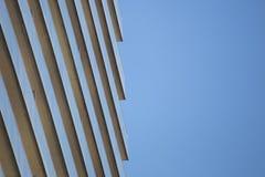 Reflekterande yttersida av höghusbalkonger, Toronto, Kanada Royaltyfri Foto