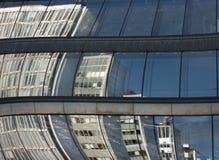 reflekterat byggnadskontor Royaltyfria Bilder