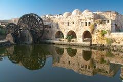 Reflektieren Sie sich in Hama Lizenzfreies Stockfoto