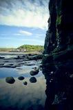 Reflektierende Felsen Stockfotografie