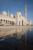 Reflektierende Moschee Stockfotos