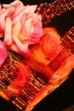 Reflektierende Rose Stockbilder