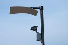 Reflektierende Straßenlaterne Lizenzfreies Stockfoto