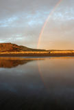 Reflektierender Regenbogen Lizenzfreies Stockbild