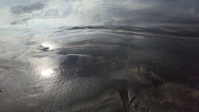 Reflektierender Sand Lizenzfreie Stockfotografie