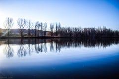 Reflektierender Teich Stockfotografie