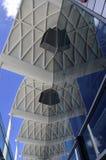 Reflektierendes Dach Stockfoto